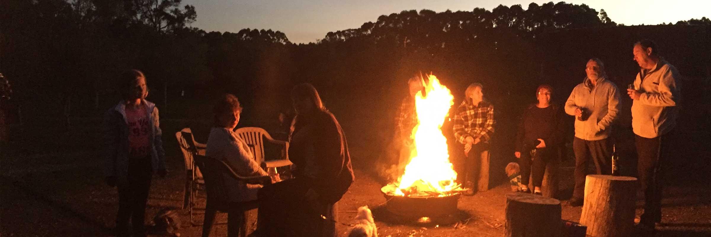 Evening-Campfire